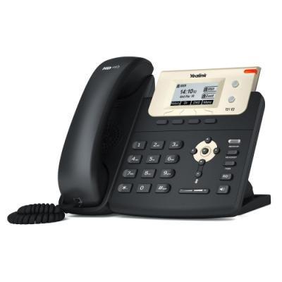 Yealink SIP-T21P E2 IP telefon/ 2x SIP/ CZ/SK displej/ 2x 10/100/ QoS/ PoE napájení/ bez adaptéru