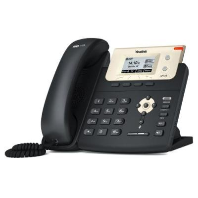 Yealink SIP-T21 E2   IP telefon/ 2x SIP/ CZ/SK displej/ 2x 10/100/ QoS/ adaptér 5V