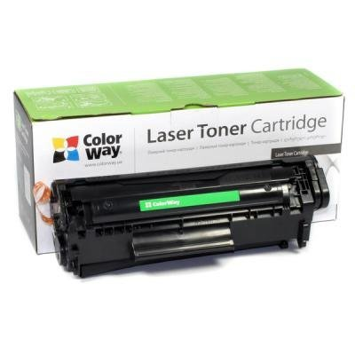 Toner ColorWay za HP CC531A/ Canon 718C modrý