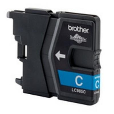 Inkoustová náplň Brother LC985C modrá