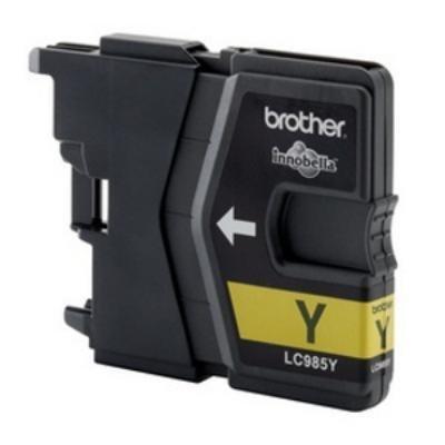Inkoustová náplň Brother LC985Y žlutá