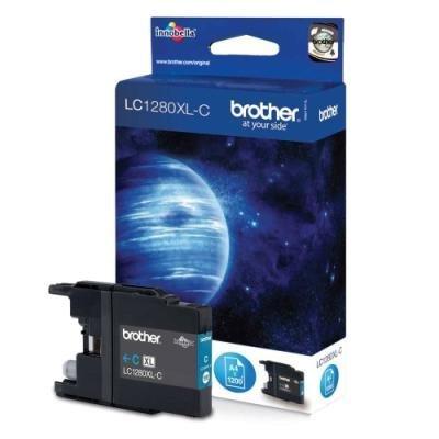 Inkoustová náplň Brother LC1280XL-C modrá