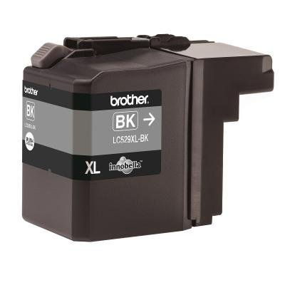 BROTHER inkoustová náplň LC-529XLBK/ Černá/ 2400 stran