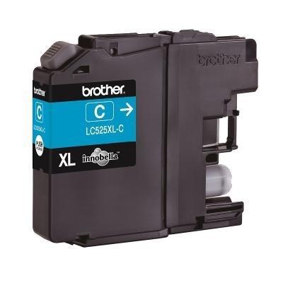 BROTHER inkoustová náplň LC-525XLC/ Modrá/ 1300 stran