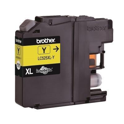 BROTHER inkoustová náplň LC-525XLY/ Žlutá/ 1300 stran