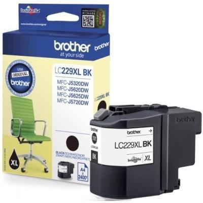 Inkoustová náplň Brother LC229XL-BK černá