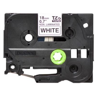 Páska Brother TZE-N241 bílá-černá 18mm