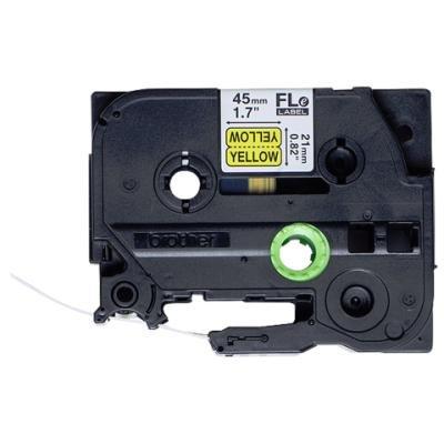 Páska Brother FLE-6511 černá-žlutá 21mm