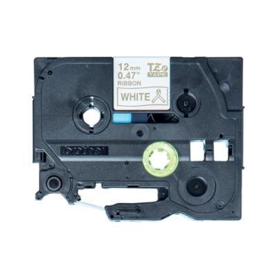 Páska Brother TZE-R234 zlatá-bílá 12mm