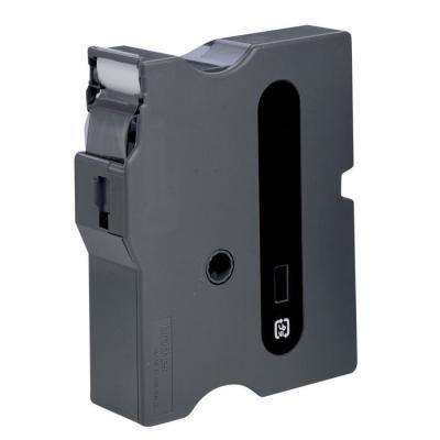 Páska Brother TX-131 průsvitná-černá 12mm