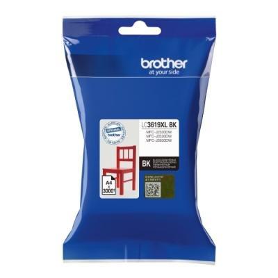 BROTHER inkoustová náplň LC-3619XLBK pro Brother MFCJ2330, 3530, 3930 / černá