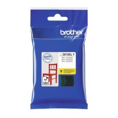 BROTHER inkoustová náplň LC-3619XLY pro Brother MFCJ2330, 3530, 3930 / žlutá
