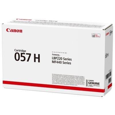 Canon toner CRG 057H (černý, 10 000str) pro Canon LBP228, LBP226, LBP223, MF449, MF446, MF445, MF443