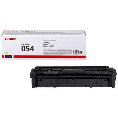 Toner Canon 054Y žlutý