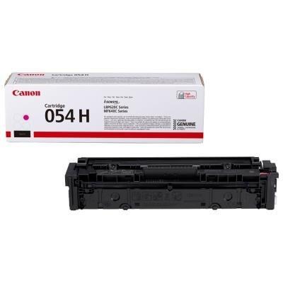 Toner Canon 054HM červený
