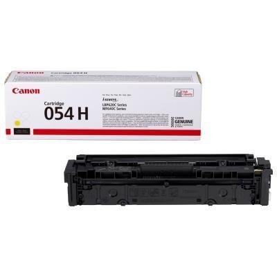 Toner Canon 054HY žlutý