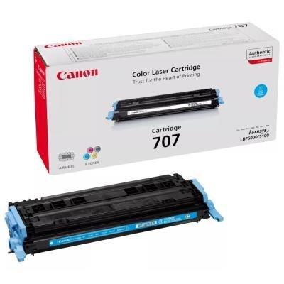 Toner Canon 707C modrý