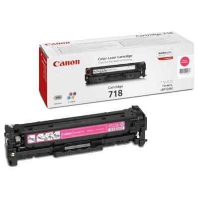 Toner Canon 718 M červený