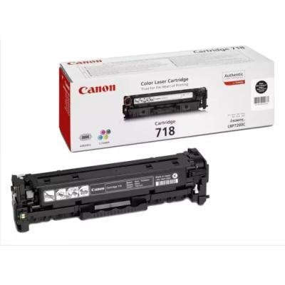 Toner Canon 718 BK černý