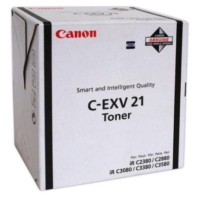 Toner Canon C-EXV21Bk černý