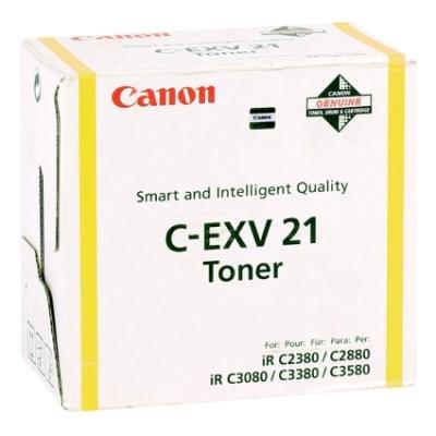 Toner Canon C-EXV21Y žlutý