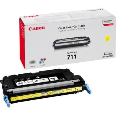 Toner Canon 711Y žlutý