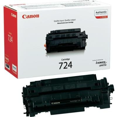 Toner Canon 724 černý