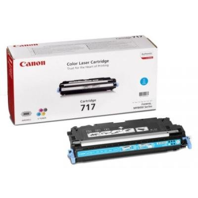 Toner Canon 717C modrý