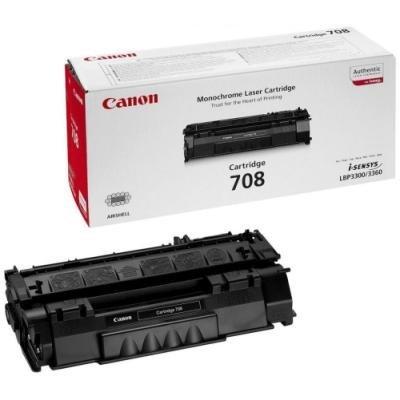 Toner Canon 708 černý