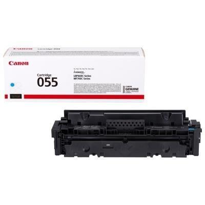 Toner Canon 055C modrý