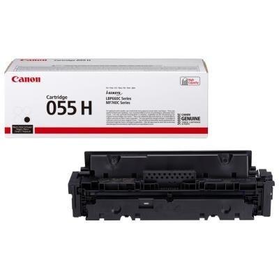 Toner Canon 055HBk černý