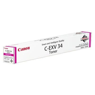 Toner Canon C-EXV34M červený