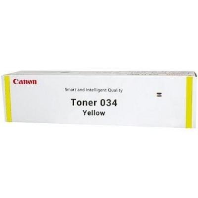 Toner Canon 034Y žlutý