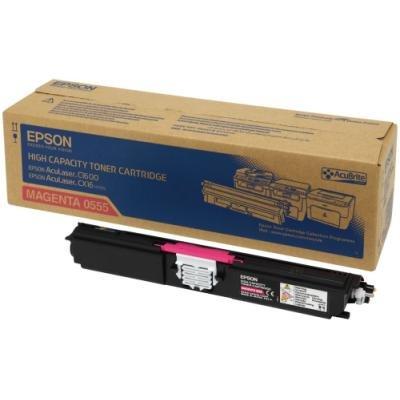 Toner Epson 0555 červený