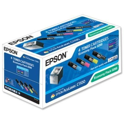 Toner Epson S050268 multipack