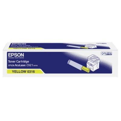 Toner Epson 0316 žlutý