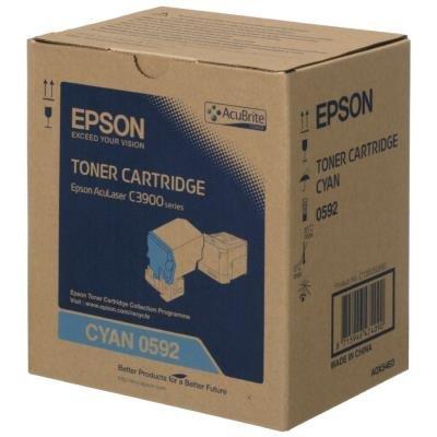 Toner Epson 0592 modrý