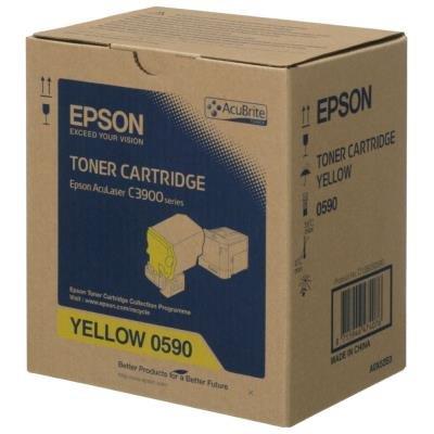 Toner Epson 0590 žlutý