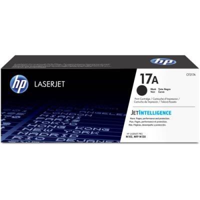 HP tonerová kazeta 17A černá originál, CF217A