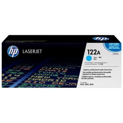 Toner HP 122A (Q3961A) modrý