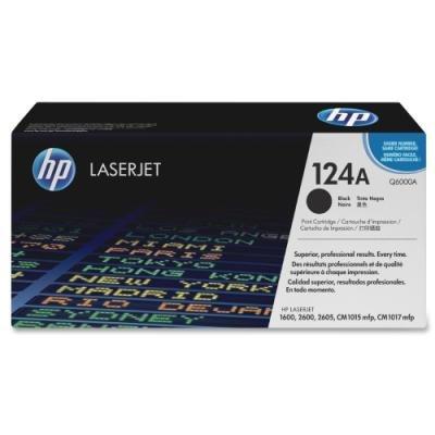 Toner HP 124A (Q6000A) černý