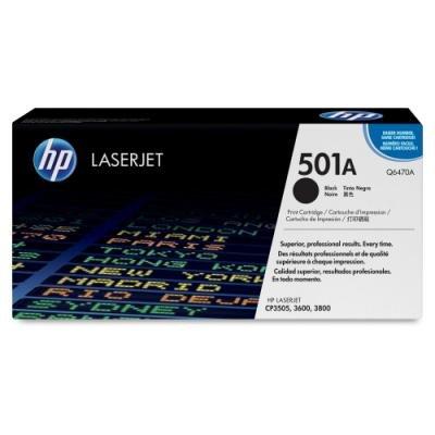 Toner HP 501A (Q6470A) černý