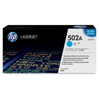 Toner HP 502A (Q6471A) modrý