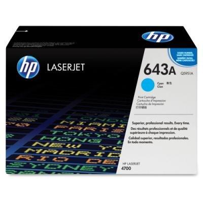 Toner HP 643A (Q5951A) modrý