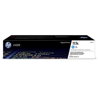 Toner HP 117A (W2071A) modrý