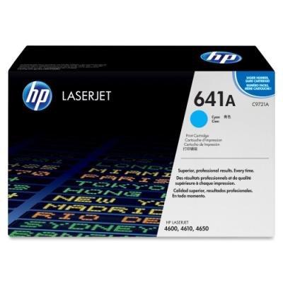 Toner HP 641A (C9721A) modrý