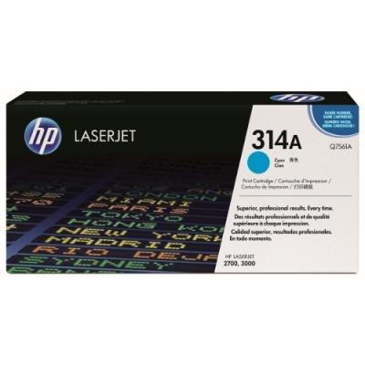 Toner HP 314A (Q7561A) modrý