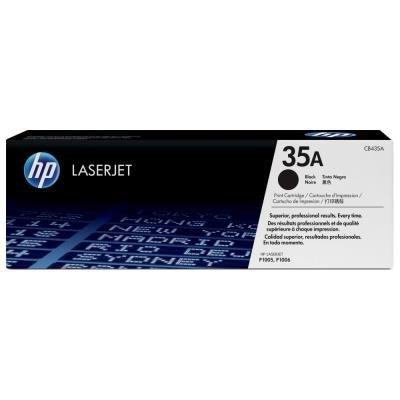 HP 35A (CB435A) černý
