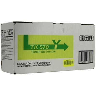 Toner Kyocera TK-570Y žlutý