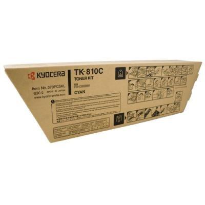 Toner Kyocera TK-810C modrý